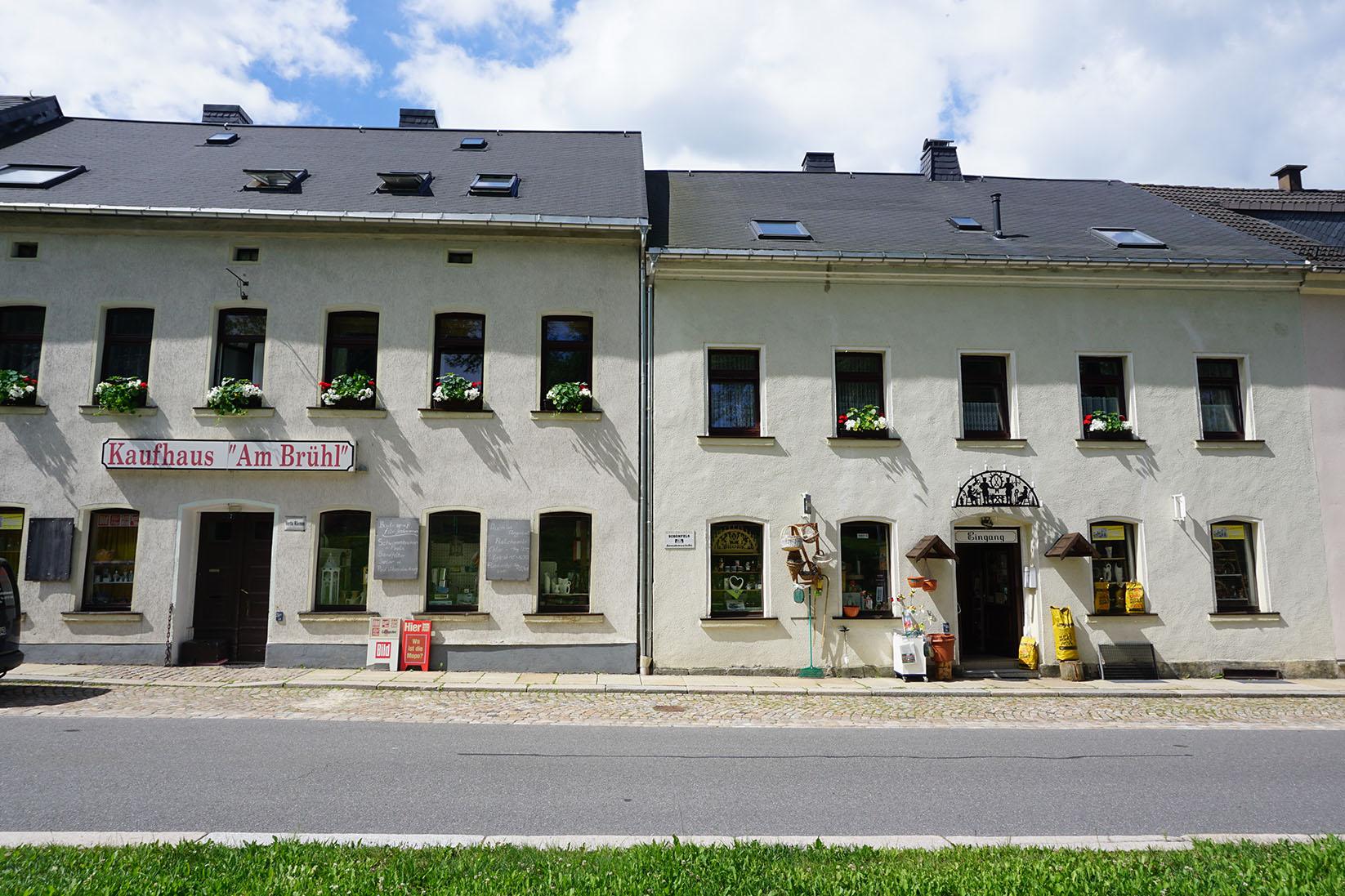 Das Kaufhaus Am Brühl in Eibenstock