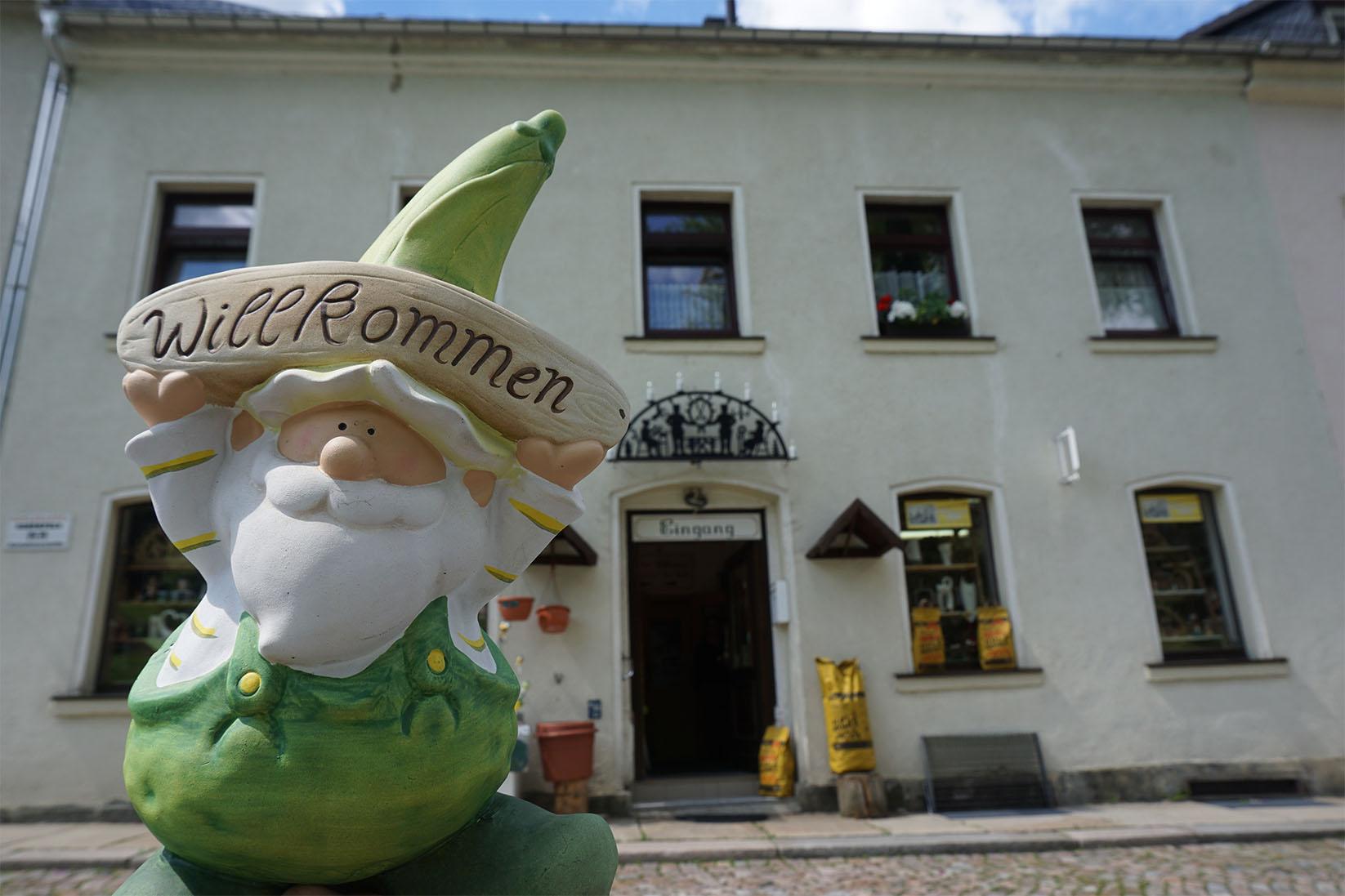 Willkommen im Kaufhaus Am Brühl in Eibenstock